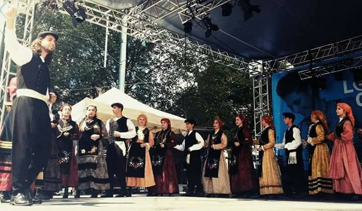 Greek traditional dance